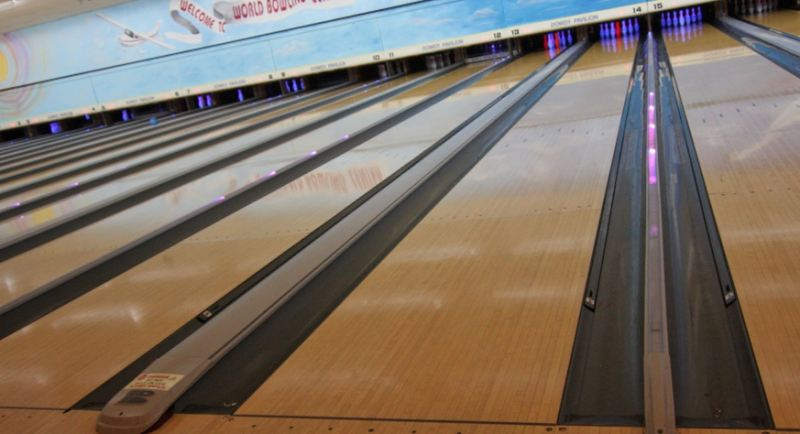 Snow buckles roof of West Hazleton bowling alley - News ...  |Bowling Alley Snow